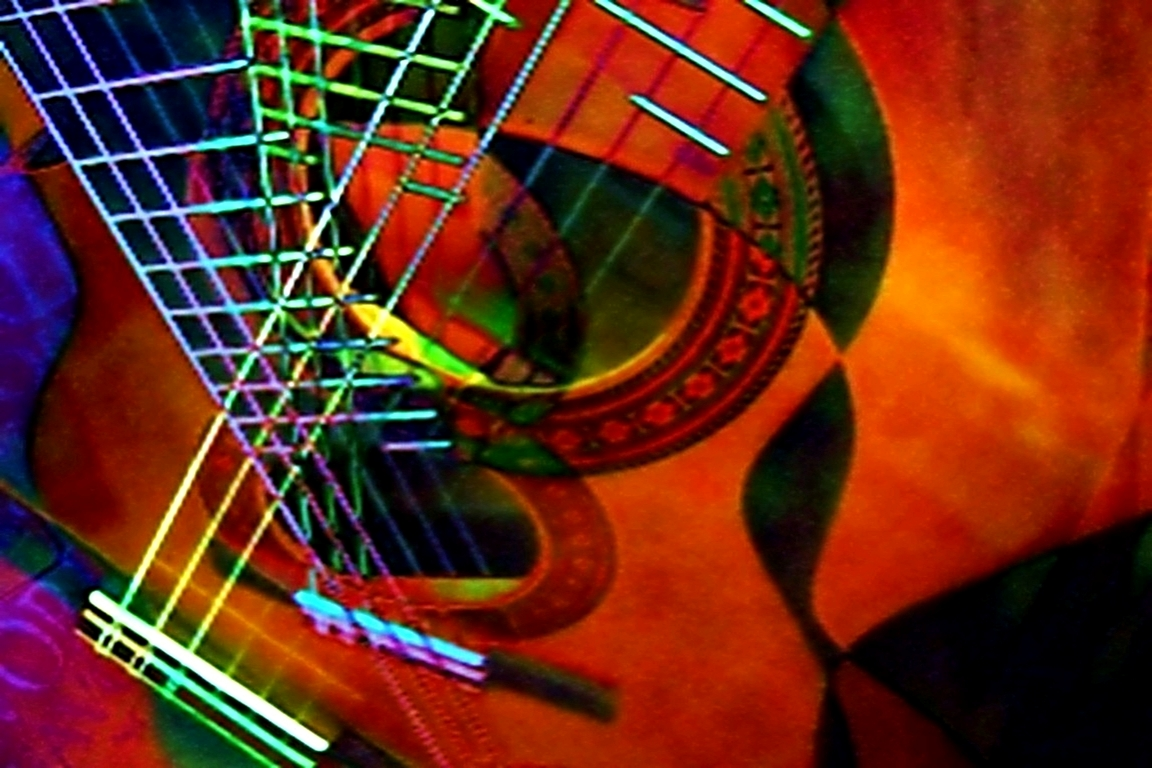 Abstract Photograph: 'Cubist Serenade' by artist and photographer John Russell
