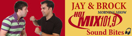 Hear Psychic John Russell on Hot Mix 101.9 hosted by Jay and Brock
