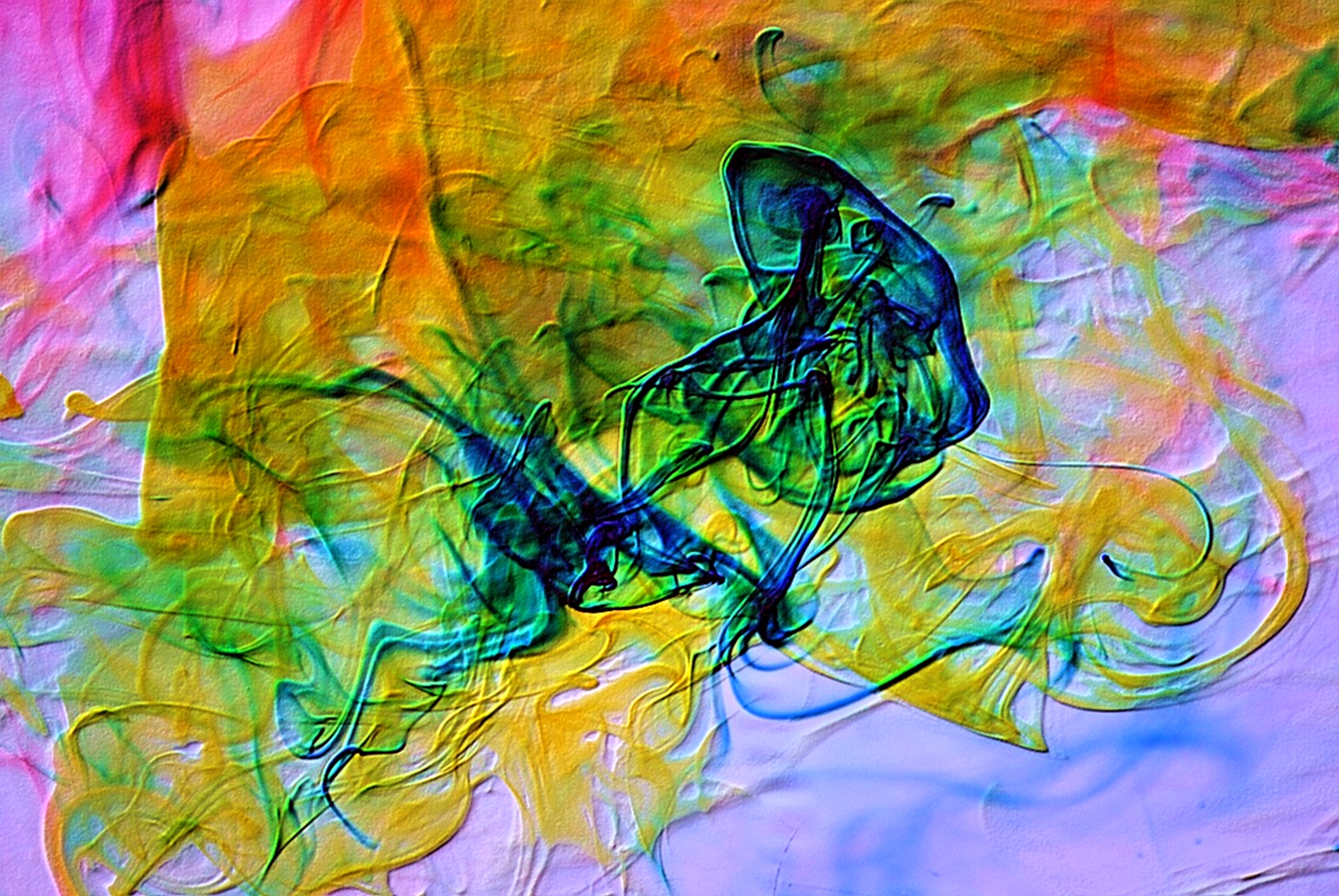 Abstract Photograph: 'Letters from Jellyfish' by artist and photographer John Russell