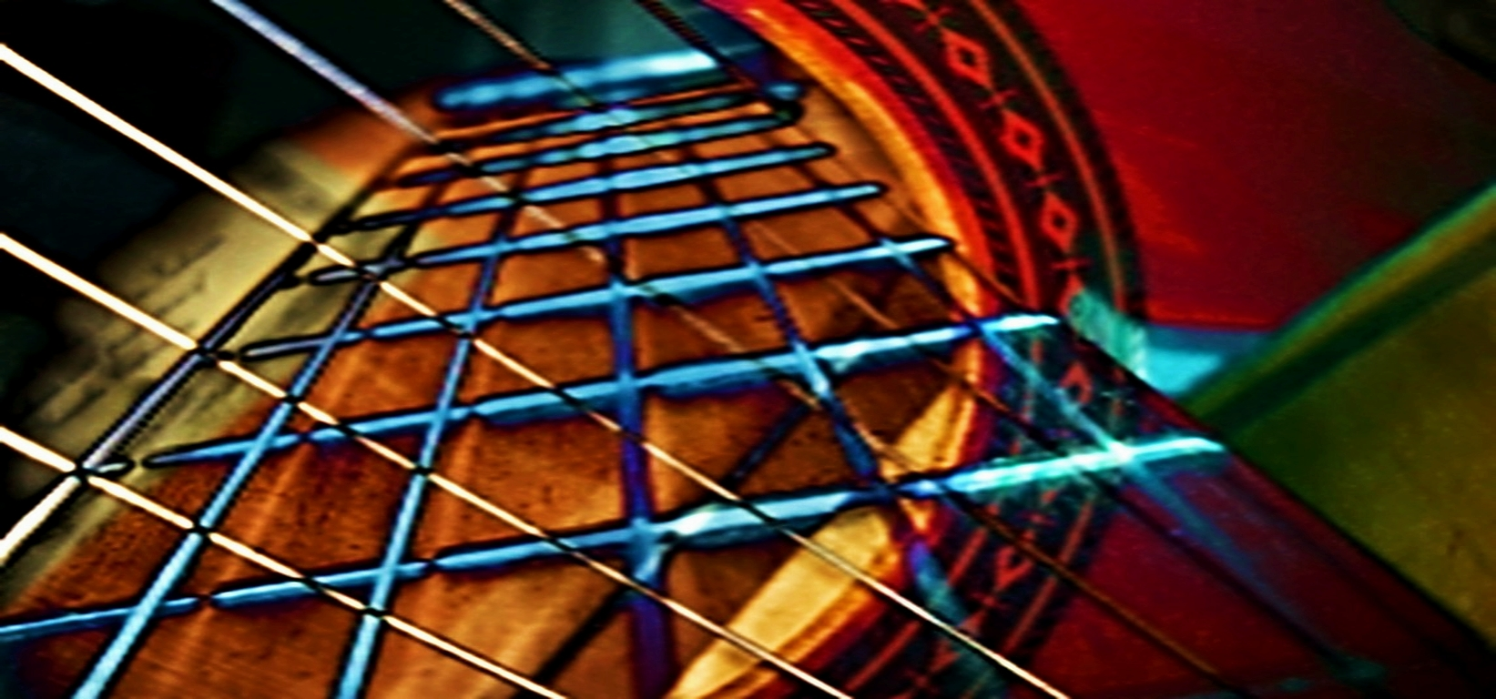 Abstract Photograph: 'Music enables us to travel back in Time' by artist and photographer John Russell