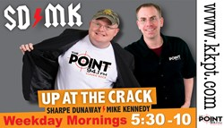 Hear John Russell the first Tuesday of each month on The Point, 94.1 FM in Little Rock, Arkansas, hosted by Sharpe Dunaway and Mike Kennedy. Tune in at 7 A.M. Central time for the Morning Show and enjoy a full hour of readings.