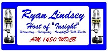 Psychic John Russell was heard on INSIGHT, hosted by Ryan Lindsey, for 3 years!